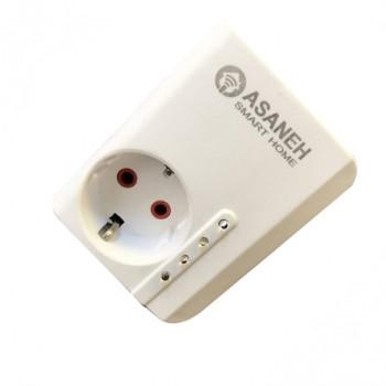 پریز برق هوشمند GR-V1 با قابلیت کنترل وایفای محصول Asaneh