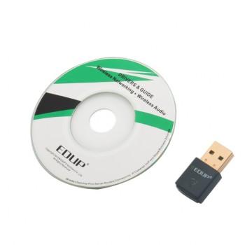دانگل وایفای 2.4GHz دارای سرعت 300Mbps محصول EDUP