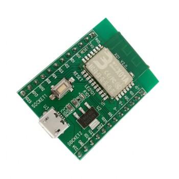 برد توسعه وایفای RDA5981 با قابلیت تامین پاور میکرو USB