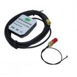 آنتن اکتیو GPS دارای سوکت SMA نری و تبدیل IPX