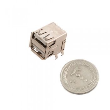 کانکتور دوبل مادگی USB 2.0