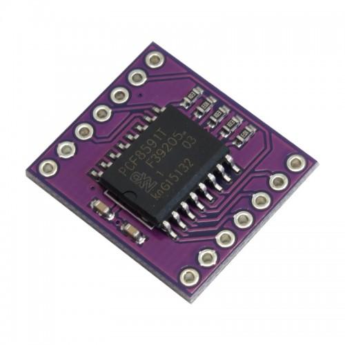 ماژول مبدل آنالوگ به دیجیتال 8 بیتی PCF8591T