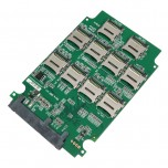 کارت مبدل 10 حافظه میکرو SD به SATA