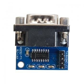 ماژول مبدل RS232 به TTL دارای چیپ MAX3232 و سوکت نری