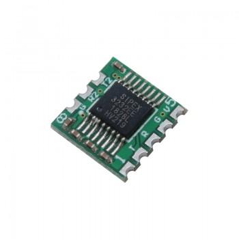 ماژول تبدیل RS232 به TTL دارای چیپ SP3232EEN