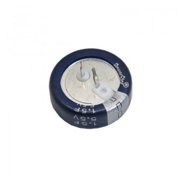 ابر خازن 1.5 فاراد 5.5 ولت آمریکایی 1.5F 5.5V Super Farad Capacitor