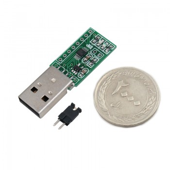 برد توسعه CH552E دارای ارتباط USB