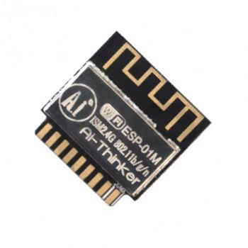 ماژول ESP-01M دارای هسته وایفای ESP8285 به همراه برد کمکی