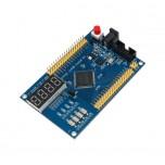 برد توسعه LC4064 دارای نمایشگر دیجیتال و کلید کنترلی