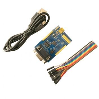 برد توسعه N76E003 دارای پورت سریال RS232