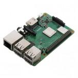 برد رسپبری پای 3 مدل B پلاس دارای هسته پردازنده 64 بیتی ، وایفای و بلوتوث داخلی