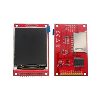 ماژول نمایشگر LCD TFT فول کالر 2.2 اینچ دارای ارتباط SPI