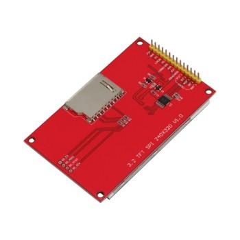 ماژول نمایشگر LCD TFT فول کالر تاچ 3.2 اینچ دارای ارتباط SPI