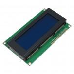 ماژول نمایشگر LCD کاراکتری 2004A دارای رنگ زمینه آبی و ولتاژ کاری 5 ولت