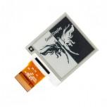 نمایشگر E-Eink دارای اندازه 1.54 اینچ ، کابل فلت 24 پین و چیپ درایور IL3820