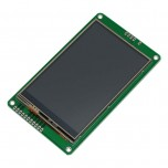 ماژول نمایشگر LCD TFT فول کالر تاچ 3.5 اینچ دارای ارتباط سریال