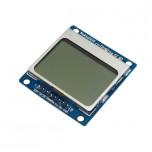ماژول نمایشگر LCD تک رنگ NOKIA 5110 دارای نور زمینه آبی