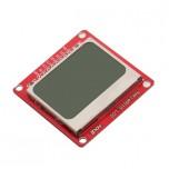 ماژول نمایشگر LCD تک رنگ NOKIA 5110 دارای نور زمینه