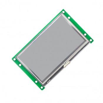 ماژول نمایشگر LCD TFT فول کالر 7 اینچی دارای ارتباط سریال