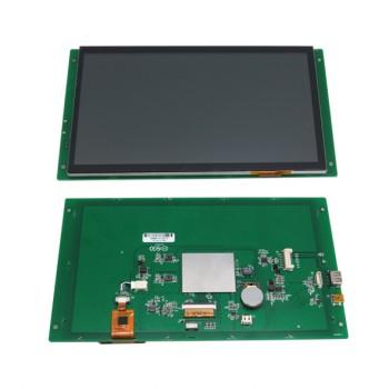 ماژول نمایشگر LCD TFT فول کالر تاچ 10.1 اینچی دارای ارتباط سریال