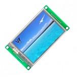 ماژول نمایشگر LCD TFT فول کالر تاچ 3.5 اینچی دارای ارتباط سریال