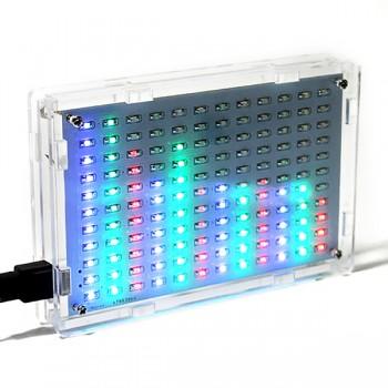 ماژول نمایش طیف موسیقی LED ماتریسی 12X11 دارای ورودی جک 3.5mm