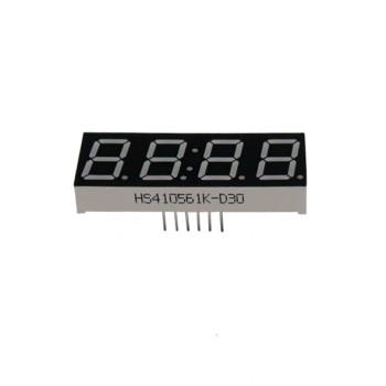 سون سگمنت چهار رقمی 0.56 اینچ قرمز آند مشترک دارای علامت ساعت و درجه