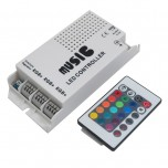 کنترل کننده LED RGB صوتی به همراه ریموت