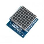 شیلد صفحه نمایش LED ماتریسی WeMos D1 Mini دارای 64 پیکسل