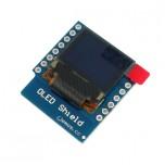 شیلد نمایشگر OLED تک رنگ 0.66 اینچ WeMos D1 Mini