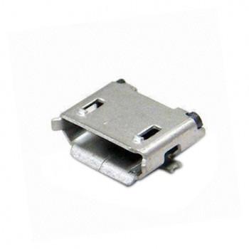 بسته 5 تایی کانکتور مادگی میکرو USB پنج پین SMD بلند