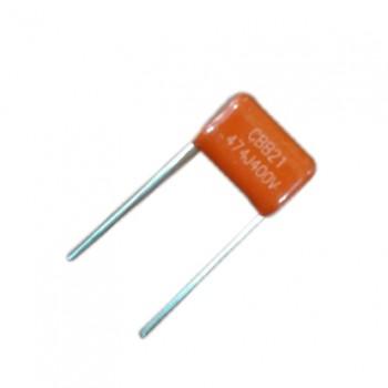 بسته 2 تایی خازن پلی استر 470 نانو فاراد 400 ولت 470nF 400V Capacitor