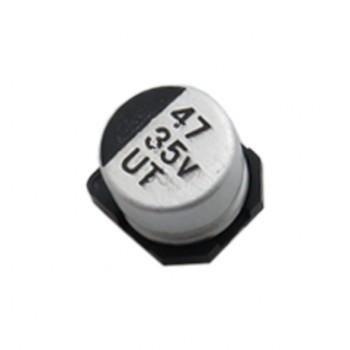 بسته 2 تایی خازن الکترولیتی 47 میکرو فاراد 35 ولت SMD