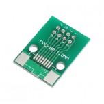 برد آداپتور 8 پین FPC دارای استانداردهای 0.5 و 1 میلی متری