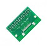 برد آداپتور 30 پین FPC دارای استاندارد 0.5 میلی متری به همراه کانکتور FPC
