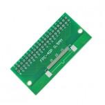 برد آداپتور 40 پین FPC دارای استاندارد 0.5 میلی متری به همراه کانکتور FPC