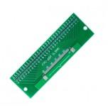 برد آداپتور 60 پین FPC دارای استاندارد 0.5 میلی متری به همراه کانکتور FPC