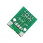 برد آداپتور 10 پین FPC دارای استاندارد 1 میلی متری به همراه کانکتور FPC
