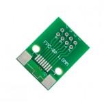 برد آداپتور 8 پین FPC دارای استاندارد 1 میلی متری به همراه کانکتور FPC