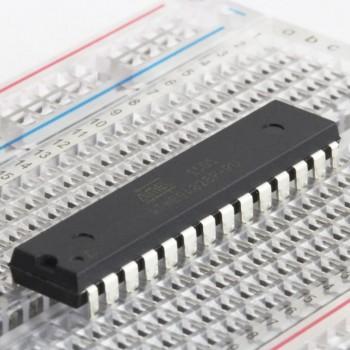 میکرو کنترلر ATMEGA328P-U دارای پکیج DIP و بوت لودر آردوینو UNO