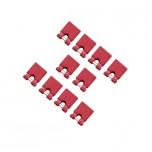 بسته 10 تایی جامپر 2.54 میلی متری قرمز