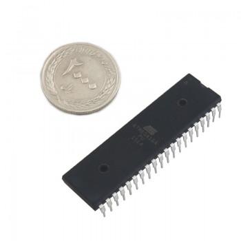 میکروکنترلر Atmega16A-PU دارای پکیج DIP