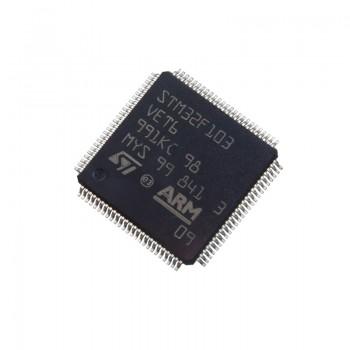 میکروکنترلر STM32F103VET6 دارای پکیج LQFP-100