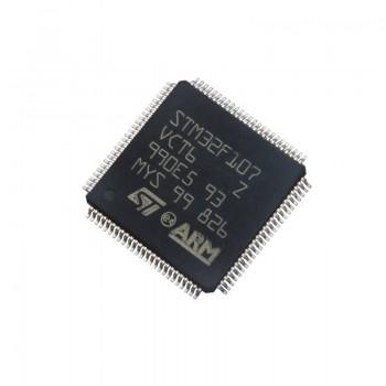 میکروکنترلر STM32F107VCT6 دارای پکیج LQFP-100