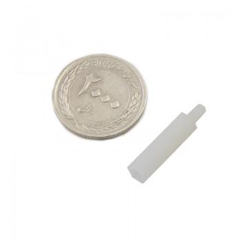 بسته 5 تایی اسپیسر پلاستیکی M3 نری مادگی به طول 20mm