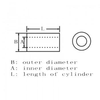 بسته 10تایی اسپیسر مادگی M3 طول 10 میلی متری