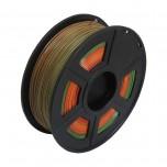 فیلامنت مولتی کالر 1 کیلو گرمی پرینتر 3 بعدی دارای جنس PLA و قطر 1.75mm