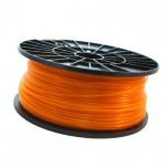 فیلامنت 1 کیلو گرمی پرینتر 3 بعدی دارای جنس PLA و قطر 1.75mm ( نارنجی شفاف )