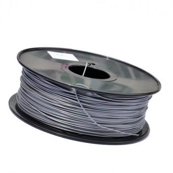فیلامنت 1 کیلو گرمی پرینتر 3 بعدی دارای جنس PLA و قطر 1.75mm ( نقره ای )