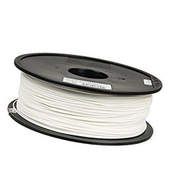 فیلامنت 1 کیلو گرمی پرینتر 3 بعدی دارای جنس PLA و قطر 1.75mm ( سفید یخچالی )